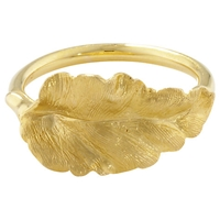 London Road Golden Leaf Ring N