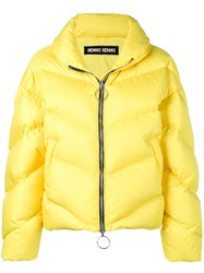 Ienki Ienki Zipped Puffer Jacket Yellow