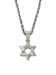 John Hardy Star Of David Pendant Necklace