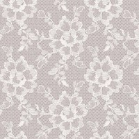 Tempaper Lace Textured Removable Wallpaper Sample Swatch White Chocolate Sample