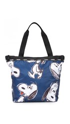 Le Sport Sac Hailey Tote Happy Snoopy