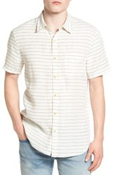 Lucky Brand Men's Shore Ballona Woven Shirt
