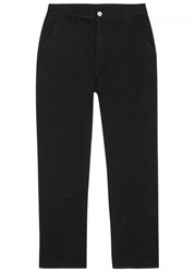 Our Legacy Black Overdyed Cotton Chinos