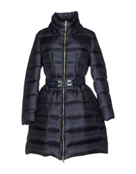 Atos Lombardini Down Jackets Dark Blue