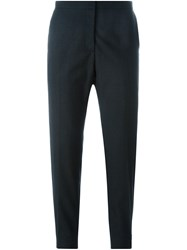 Marni Tailored Cropped Trousers Grey