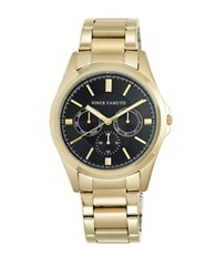 Vince Camuto Goldtone Stainless Steel Chronograph Vc 1084Bkgp