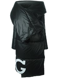 Iceberg Padded Oversized Coat Black