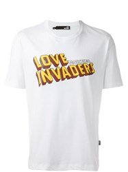 Love Moschino 'Love Invaders' T Shirt White