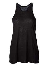 T By Alexander Wang Racerback Burnout Tank