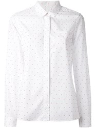 Chinti And Parker Peter Pan Shirt White