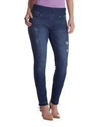 Jag Nora Skinny Fit Five Pocket Jeans Med Indigo
