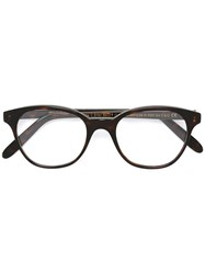Cutler And Gross Square Shaped Glasses Brown
