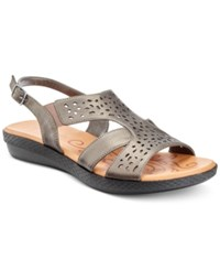 Easy Street Shoes Bolt Sandals Women's Pewter