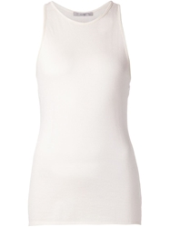 Dusan Knitted Tank Top White