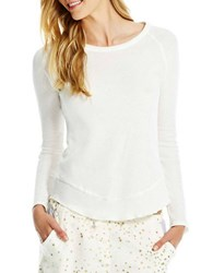 Jessica Simpson Baby Its Cold Long Sleeved Raglan Tee Ivory