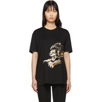 Givenchy Black Leo Signature T Shirt