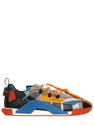 Dolce And Gabbana Ns1 Mesh Suede Sneakers Multicolor