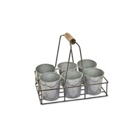 Garden Trading Herb Pot Carrier Wirework