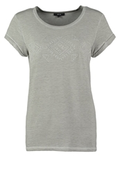 Opus Sorna Basic Tshirt Pebble Stone Grey
