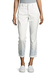 Nydj Nina Rolled Cuff Ankle Pants Sugar