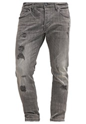 Earnest Sewn Dean Slim Fit Jeans Smoke Screen Grey Denim