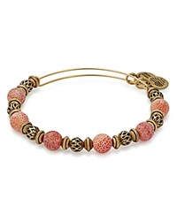 Alex And Ani Moon Terra Expandable Wire Bangle Red Gold
