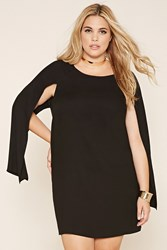Forever 21 Plus Size Cape Sleeve Dress