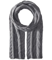 Smartwool Marquette Scarf Medium Gray Heather Scarves
