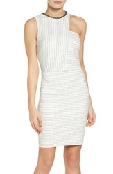 Ali And Jay Women's Ponte Body Con Dress White