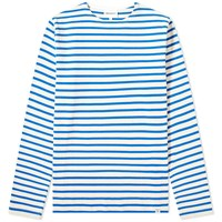 Norse Projects Long Sleeve Godtfred Classic Compact Tee Blue