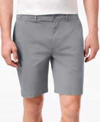 Dkny Sateen Stretch Shorts Turbulence