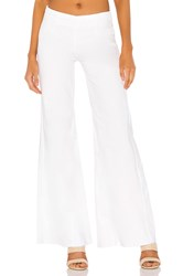 Free People Drapey A Line Pull On Jean White