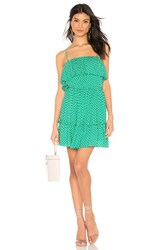 Bb Dakota Dot Off The Press Dress Green