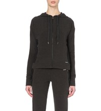 Sweaty Betty Solace Luxe Jersey Hoody Charcoal
