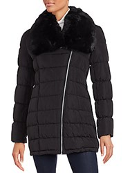 Calvin Klein Filled Parka Jacket Black