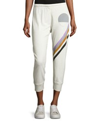 Freecity Symphonic Cropped Jogger Pants White