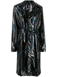 Rains Belted Raincoat Black