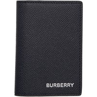 Burberry Navy Bifold Card Holder