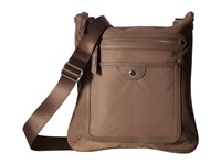 Baggallini Highland Slim Crossbody Walnut Cross Body Handbags Brown