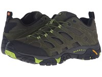 Merrell Moab Ventilator Dusty Olive Black Men's Lace Up Casual Shoes