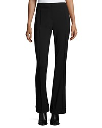 Elie Tahari Bailee Flared Leg Pants Black