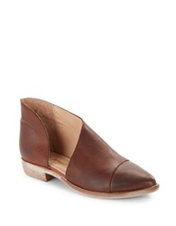 Free People Royale D Orsay Ankle Boots Taupe