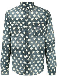 Denim And Supply Ralph Lauren Star Print Shirt Green