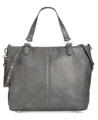 Inc International Concepts Elliah Wrap Medium Tote Created For Macy's Charcoal