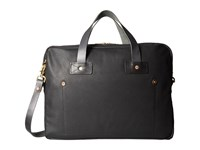 Billy Reid Worn Leather Messenger Bag Black Messenger Bags