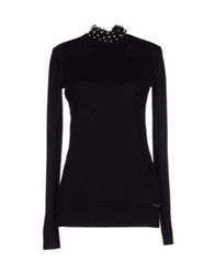 Caractere Turtlenecks Black