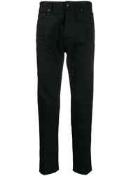 Golden Goose Straight Fit Trousers Black