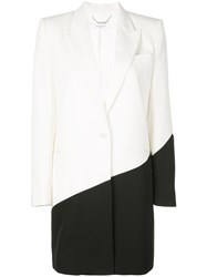 Givenchy Structured Two Tone Jacket Black