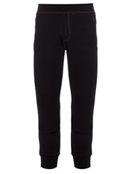 Lanvin Wool Blend Track Pants Navy