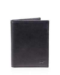 Will Leather Goods Cyrus Vertical Card Case Black